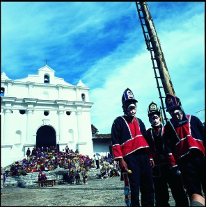 Palo volador en Chichicastenango