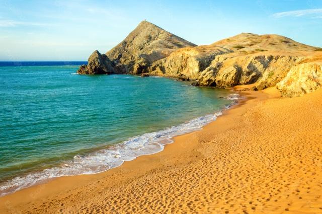 plages Colombie désert Guajira 1