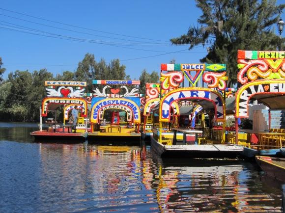 Xochimilco_trajineras